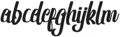 Shanthans Regular otf (400) Font LOWERCASE
