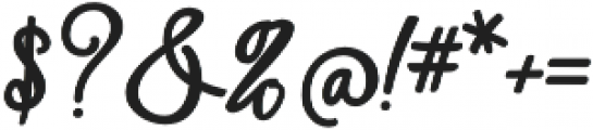 Shantik Regular otf (400) Font OTHER CHARS