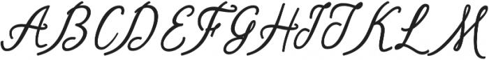 Shantik Regular otf (400) Font UPPERCASE