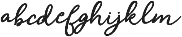 Shantik Regular otf (400) Font LOWERCASE