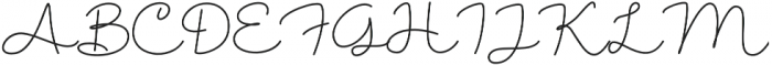 Shantine otf (400) Font UPPERCASE