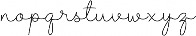 Shantine otf (400) Font LOWERCASE