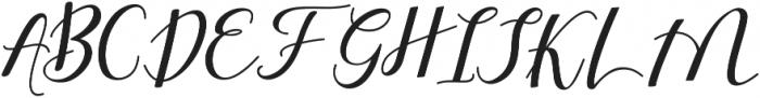 Shany ttf (400) Font UPPERCASE