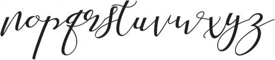 Shany ttf (400) Font LOWERCASE