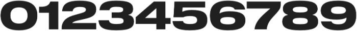 Shapiro 75 Heavy Extd otf (800) Font OTHER CHARS