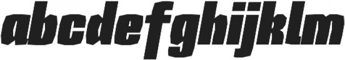 Sharka 02_Italic otf (400) Font LOWERCASE