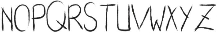 Sharktooth ttf (400) Font UPPERCASE
