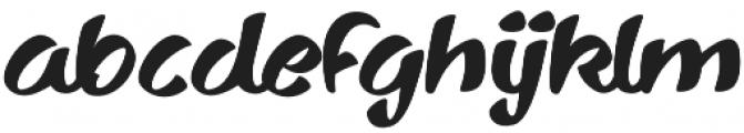 Sharkyspot otf (400) Font LOWERCASE