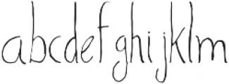Sharoon otf (400) Font LOWERCASE