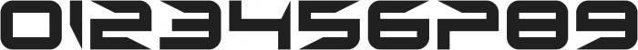 Sharp ttf (400) Font OTHER CHARS