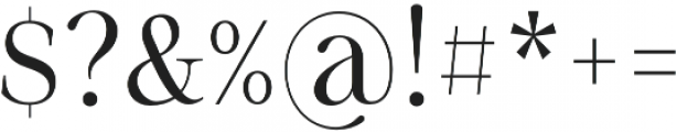 Sharpe otf (300) Font OTHER CHARS