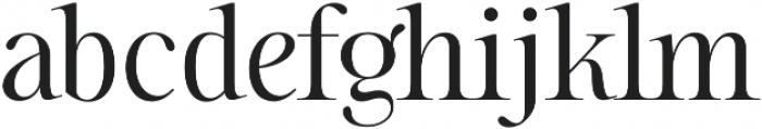 Sharpe otf (300) Font LOWERCASE