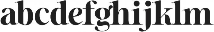 Sharpe ttf (700) Font LOWERCASE
