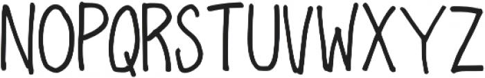 Sharpie Fumes Mono Regular otf (400) Font UPPERCASE