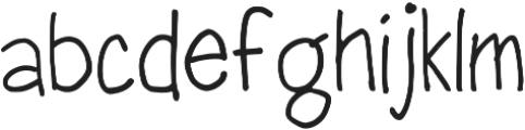 Sharpie Fumes Mono Regular otf (400) Font LOWERCASE