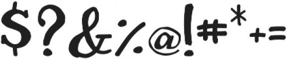 Sharpie Fumes Serif Regular otf (400) Font OTHER CHARS