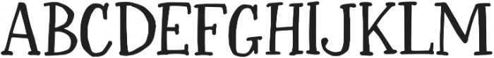 Sharpie Fumes Serif Regular otf (400) Font UPPERCASE