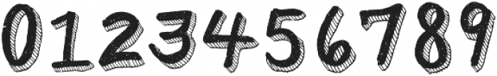 Sharpie Regular ttf (400) Font OTHER CHARS