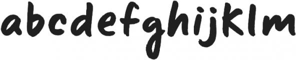 Sharpie Regular ttf (400) Font LOWERCASE