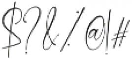 Shattera otf (400) Font OTHER CHARS