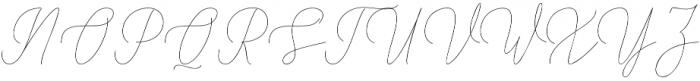 Shattuck otf (400) Font UPPERCASE