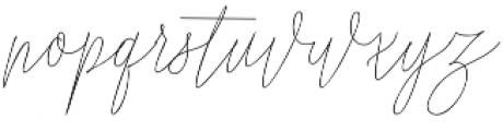Shattuck otf (400) Font LOWERCASE
