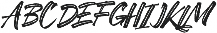 SheTerror Slant Regular ttf (400) Font UPPERCASE