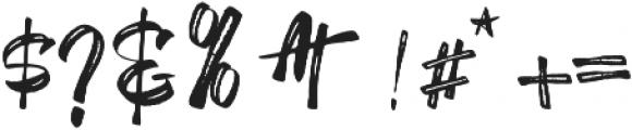 SheTerror otf (400) Font OTHER CHARS