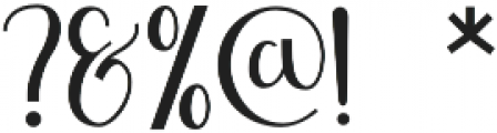 Shefilla Regular otf (400) Font OTHER CHARS