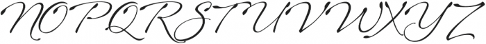 Sheila otf (400) Font UPPERCASE
