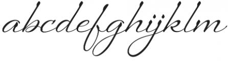 Sheila otf (400) Font LOWERCASE