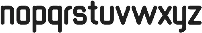 Shelby bold otf (700) Font LOWERCASE