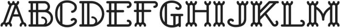 Shelley ttf (400) Font LOWERCASE