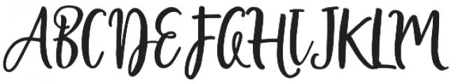 Shellion Script Regular otf (400) Font UPPERCASE