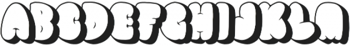 Shelter 86 Two otf (400) Font LOWERCASE