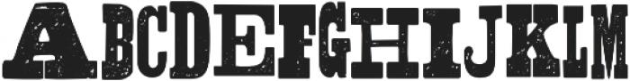 Shelton Slab otf (400) Font UPPERCASE