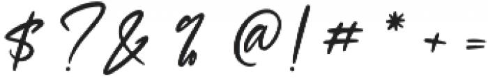 Sheltone otf (400) Font OTHER CHARS
