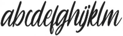 Sheltone otf (400) Font LOWERCASE