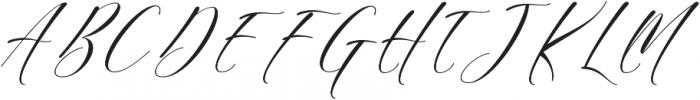 Sheraton Script otf (400) Font UPPERCASE