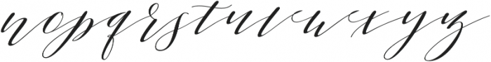 Sheraton Script otf (400) Font LOWERCASE
