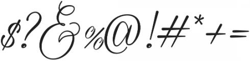 Sherina otf (400) Font OTHER CHARS