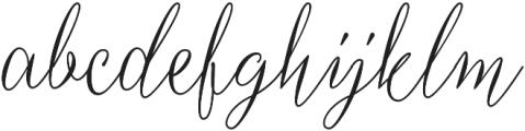 Sherina otf (400) Font LOWERCASE