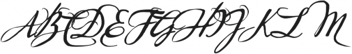 Sherlock Script3 otf (400) Font UPPERCASE