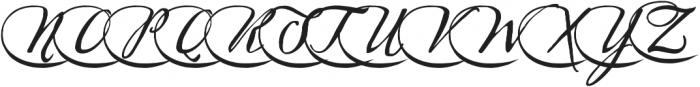 Sherlock Script5 otf (400) Font LOWERCASE