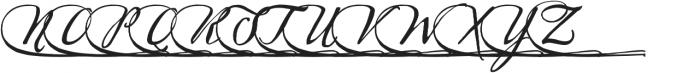 Sherlock Script6 otf (400) Font LOWERCASE