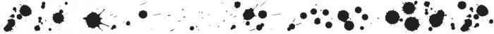 Sherlock StuffDots otf (400) Font UPPERCASE