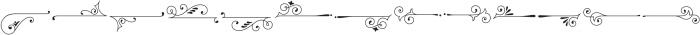 Sherlock Symbols Flourish otf (400) Font UPPERCASE