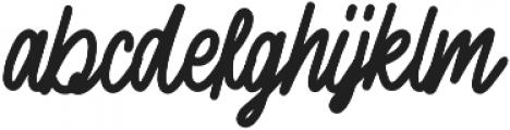 Sherly Shane otf (400) Font LOWERCASE