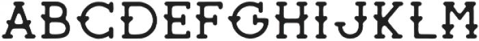 Sherman Alternate Regular otf (400) Font LOWERCASE