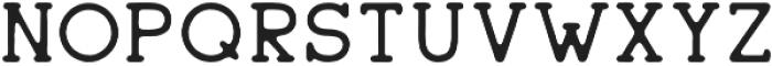 Sherman Serif Regular otf (400) Font UPPERCASE